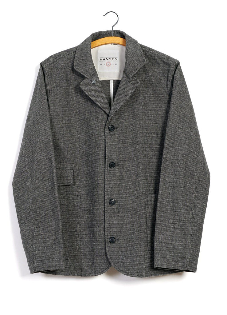 HANSEN Garments - JASPER | Casual Everyday Jacket Blazer | Gravel - HANSEN Garments