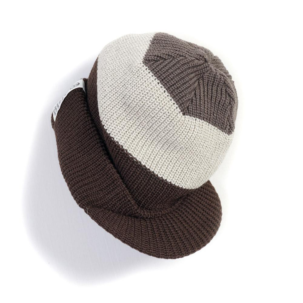Jeep Cap | Knitted Hat | Brown | €120 -MOUNTAIN RESEARCH- HANSEN Garments