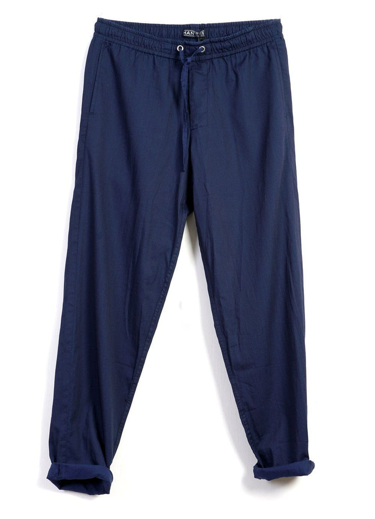 JIM | Casual Summer Trousers | Indigo -HANSEN Garments- HANSEN Garments