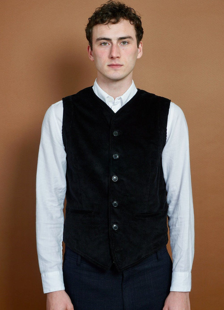HANSEN Garments - KAJ | Casual Waistcoat | Black - HANSEN Garments