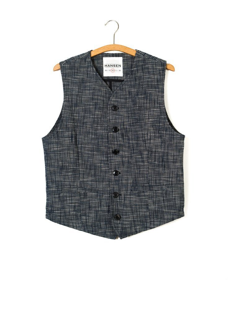 KALLE | Casual Classic Vest | Seasalt | €225 -HANSEN Garments- HANSEN Garments