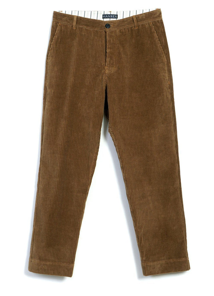 HANSEN Garments - KEN | Wide Cut Trousers | Camel - HANSEN Garments
