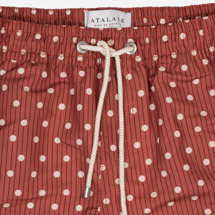 KERLYS | Swim Shorts | Rouge Brique | 110€ -Atalaye- HANSEN Garments