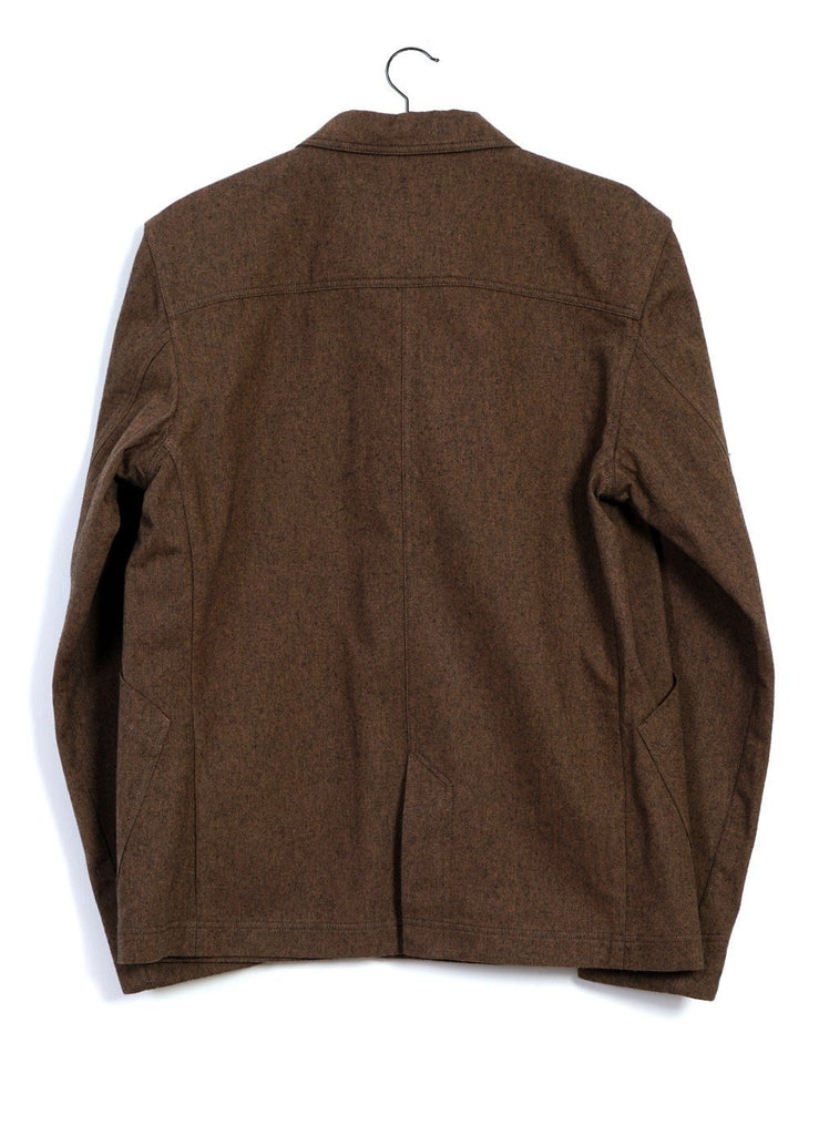 HANSEN Garments - LAURITZ | Refined Work Jacket | Caramel - HANSEN Garments