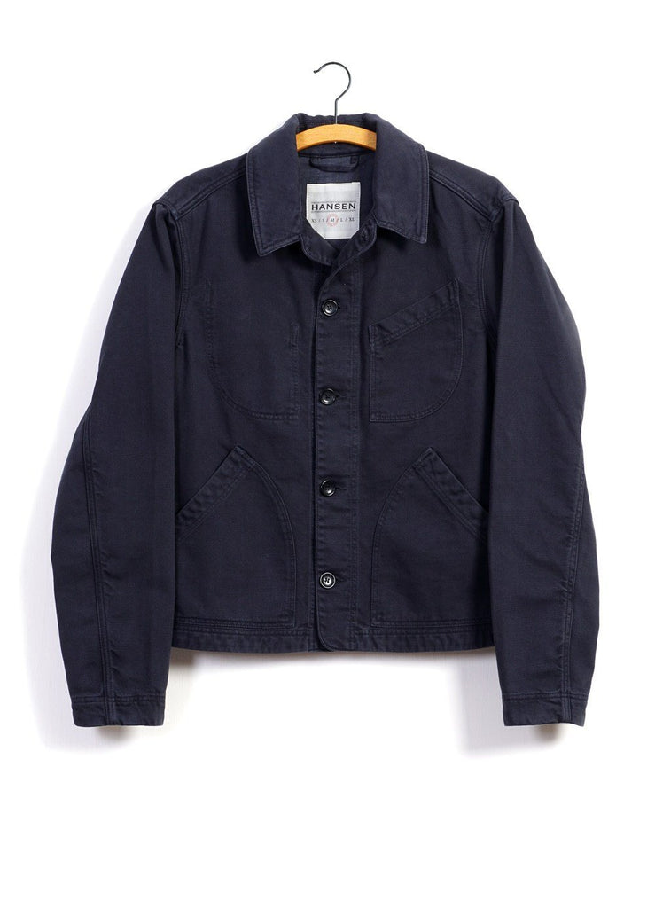 LAUST | Casual Work Jacket | Work Blue -HANSEN Garments- HANSEN Garments