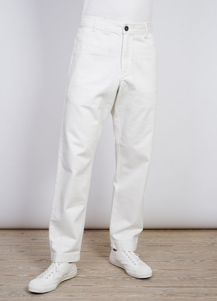 LENNART | Casual Work Trousers | Ecru -HANSEN Garments- HANSEN Garments