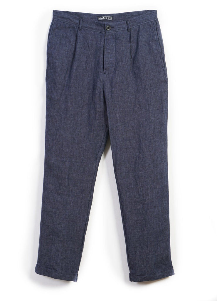 MADS | Loose Fit Trousers | Blue Delave | €255 -HANSEN Garments- HANSEN Garments