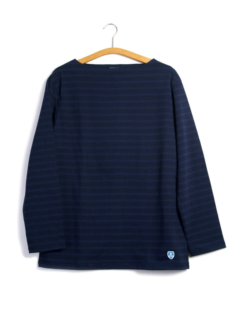 MARINE NATIONALE | Striped T-shirt | Navy Marine | €80 -ORCIVAL- HANSEN Garments