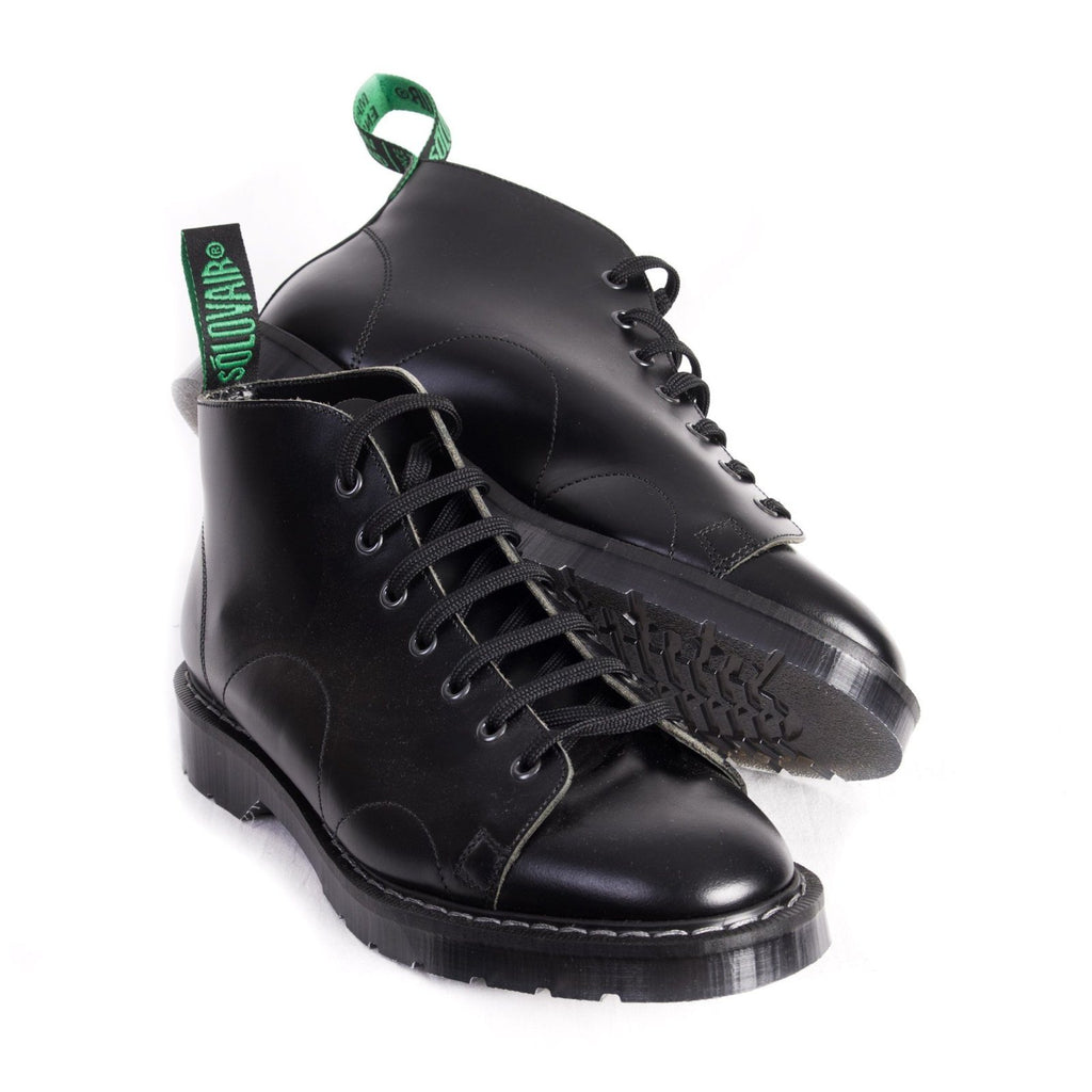MONKEY BOOT | 7 Eye | Black | €190 -Solovair- HANSEN Garments