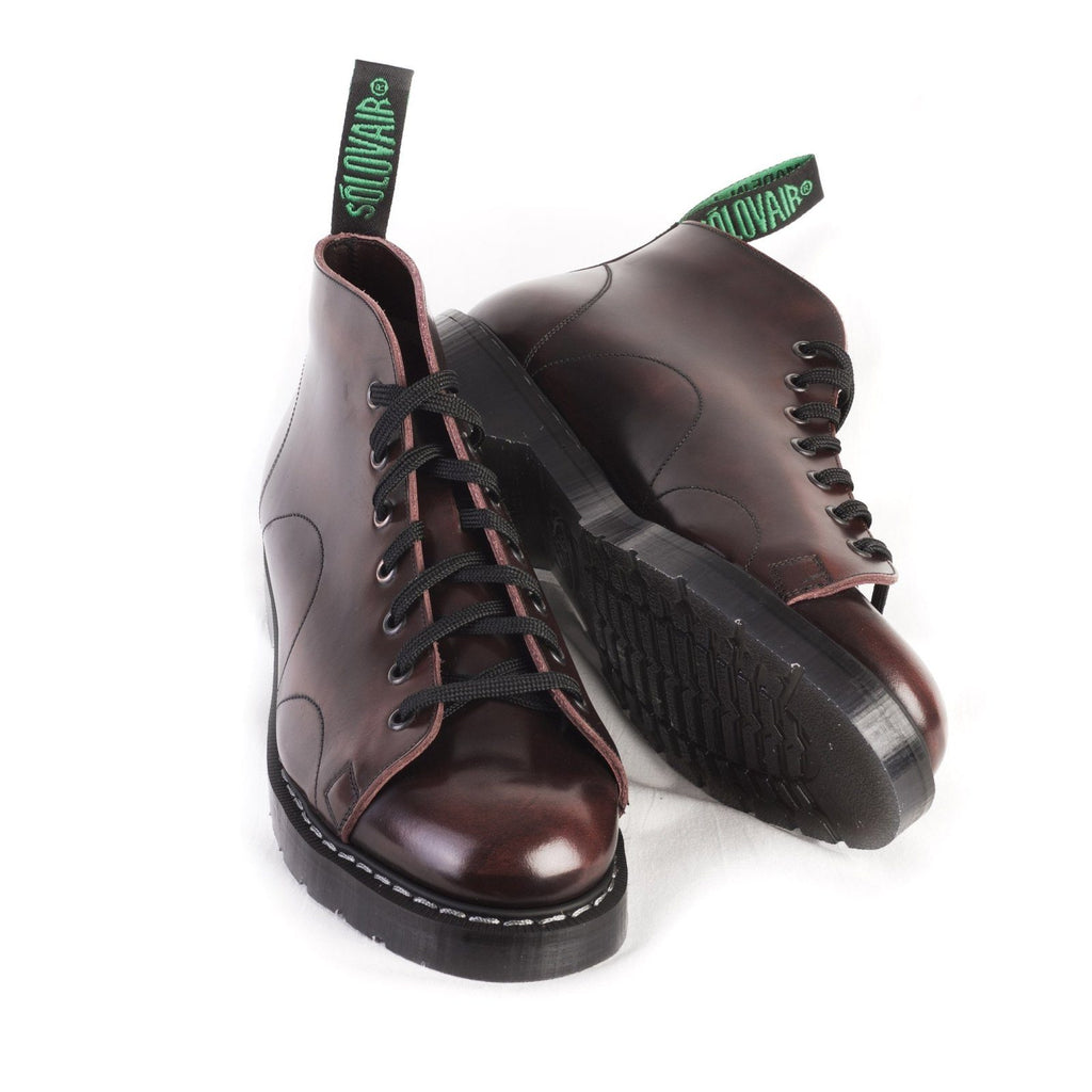 MONKEY BOOT | 7 Eye | Burgundy | €190 -Solovair- HANSEN Garments