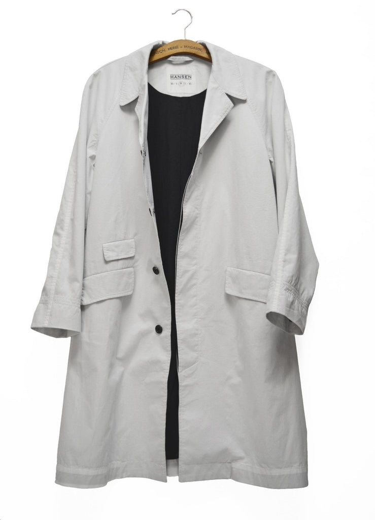 Morten Coat | White | €385 -HANSEN Garments- HANSEN Garments
