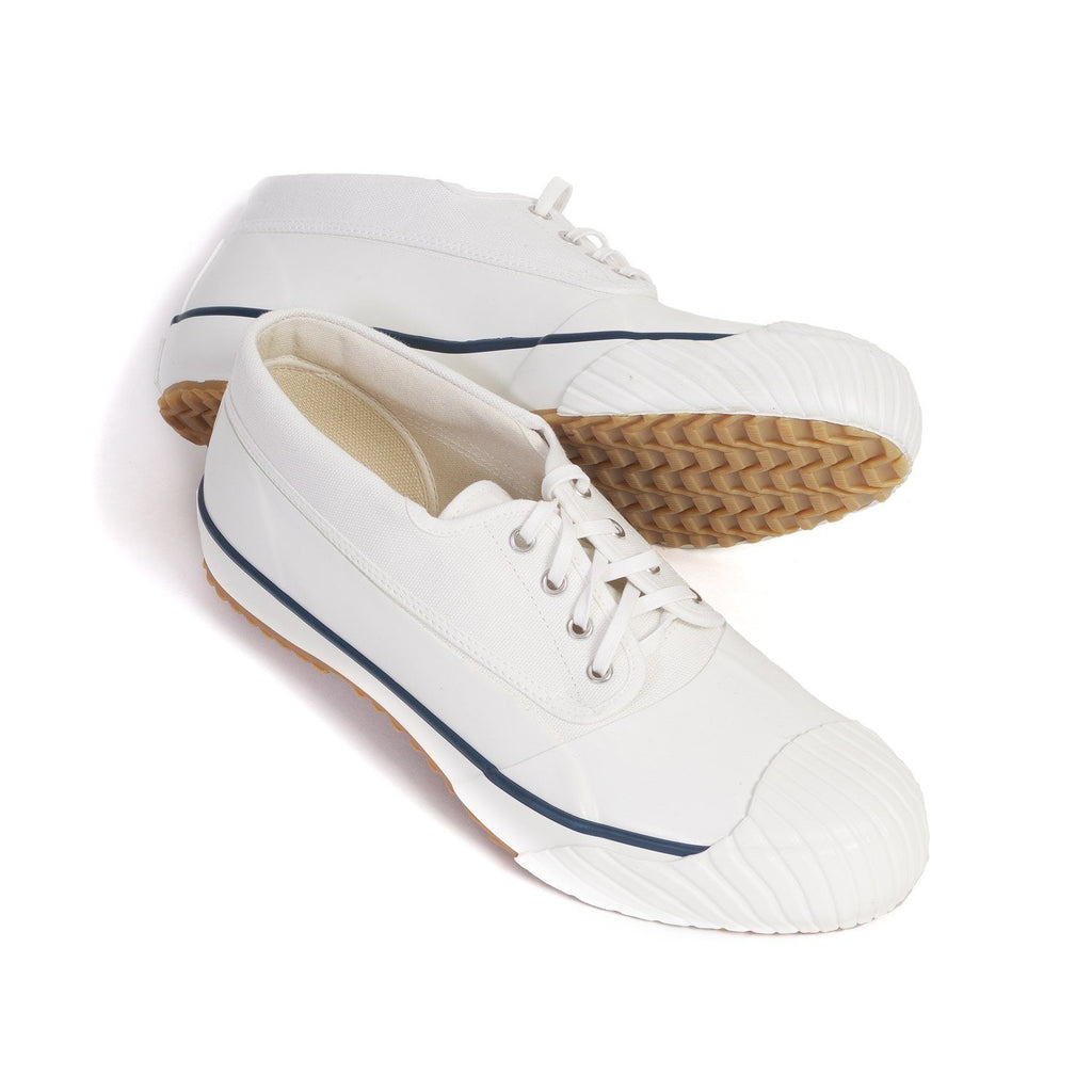 MUDGUARD | Vulcanised Sole Sneaker Shoe | White | €250 -Moon Star- HANSEN Garments