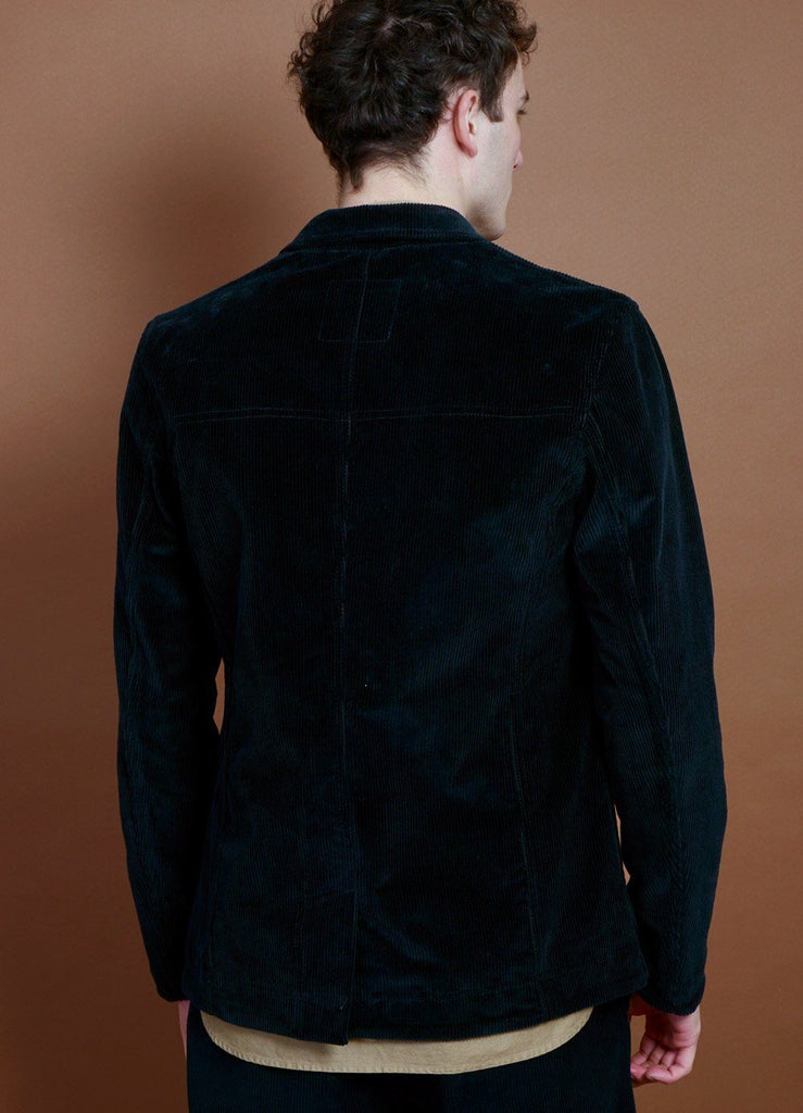 HANSEN Garments - NICOLAI | Informal Four Button Blazer | Black - HANSEN Garments