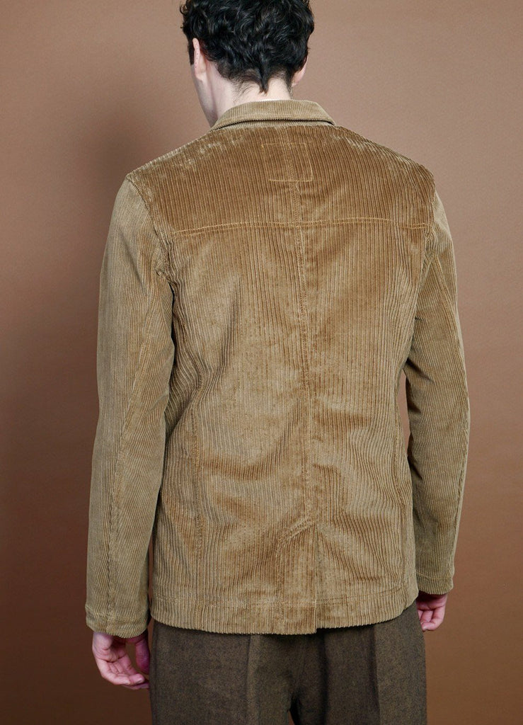 HANSEN Garments - NICOLAI | Informal Four Button Blazer | Camel - HANSEN Garments