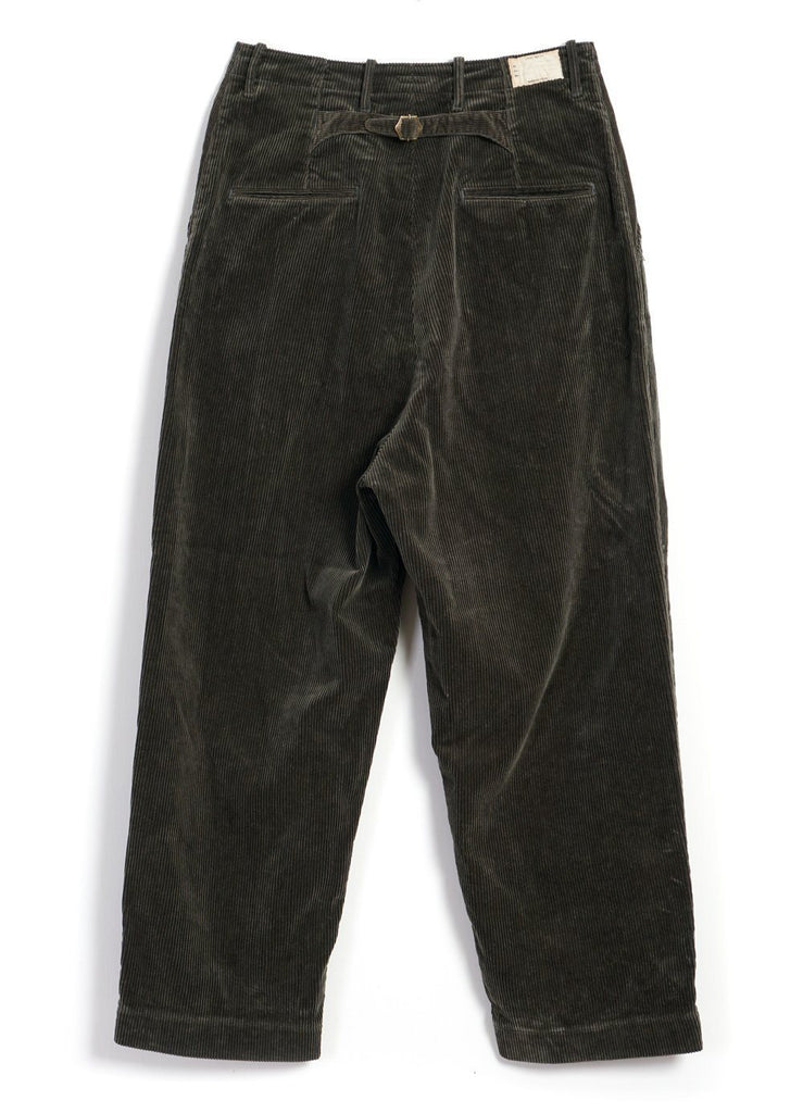 Kapital - NIME PANTS | Corduroy High Waisted | Grey - HANSEN Garments