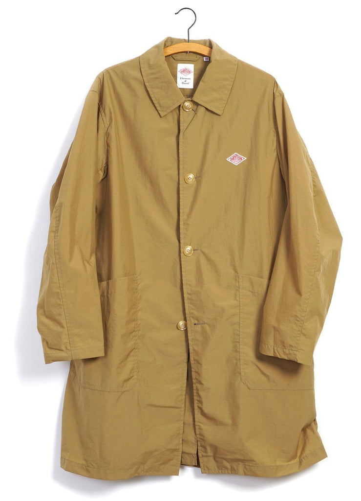 NYLON TAFFETA | Light Coat | Camel -DANTON- HANSEN Garments
