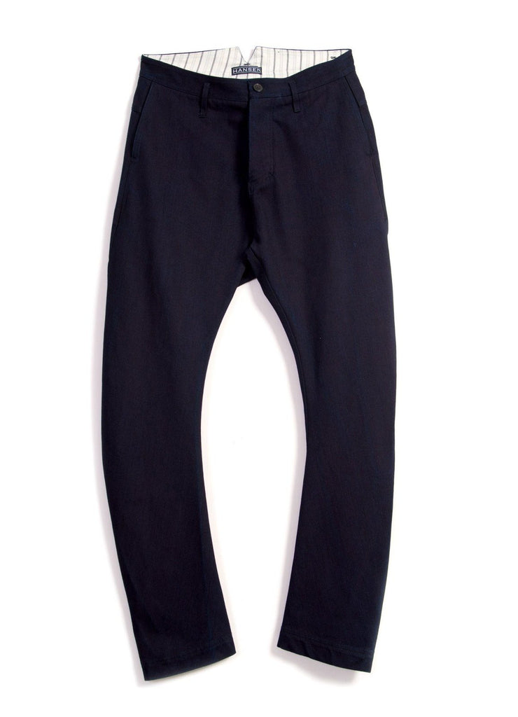 OTTO | Loose Fit Driving Trousers | Black Indigo | €200 -HANSEN Garments- HANSEN Garments