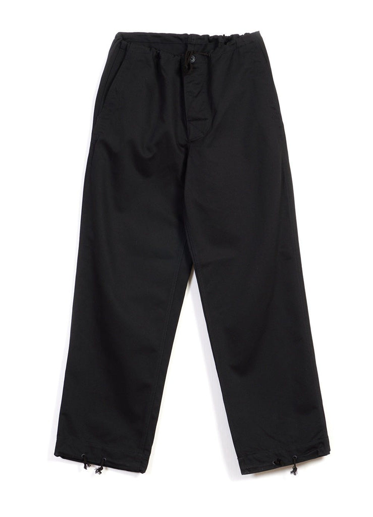 OVERPANTS | Baggy Silhouette | Black | €320 -MOUNTAIN RESEARCH- HANSEN Garments
