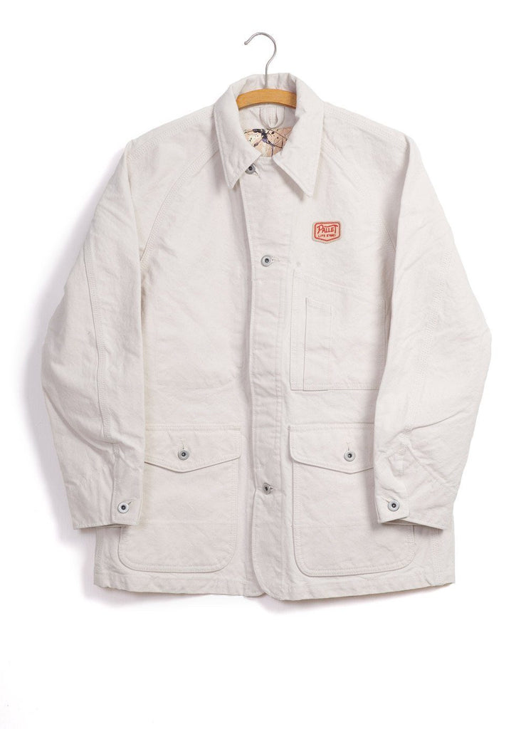 PAINTER JACKET | Canvas | Ecru | €280 -PALLET LIFE STORY- HANSEN Garments