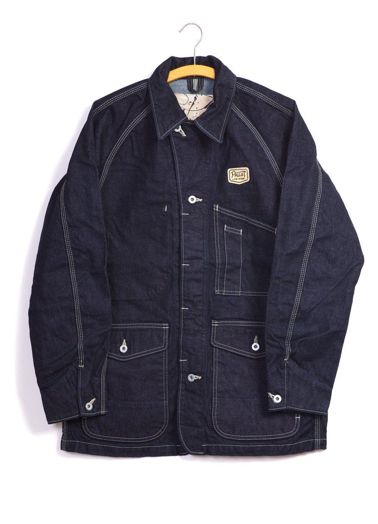 PAINTER JACKET | Denim | Indigo | €280 -PALLET LIFE STORY- HANSEN Garments
