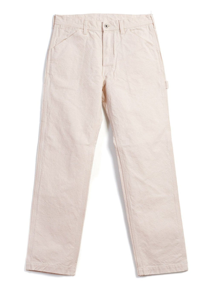 PAINTER TROUSERS | Canvas | Ecru | €185 -PALLET LIFE STORY- HANSEN Garments