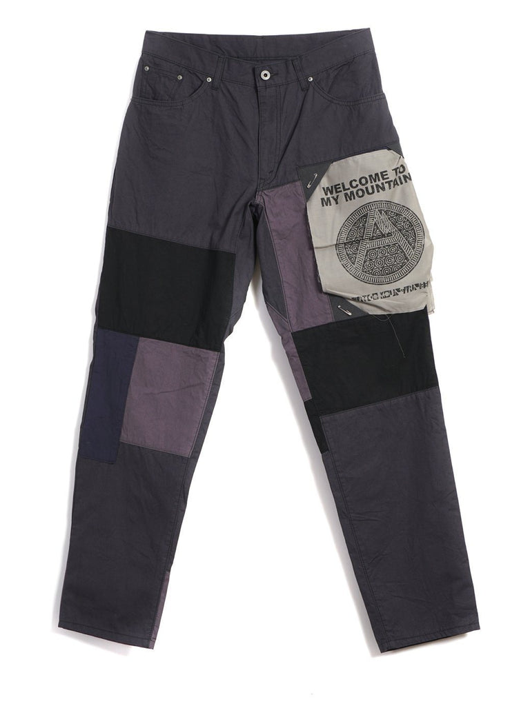 MOUNTAIN RESEARCH - PATCHWORK PANTS | Grey - HANSEN Garments