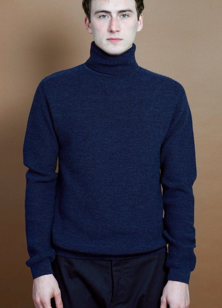 HANSEN Garments - PATRICK | Knitted Turtleneck Sweater | Bluemele - HANSEN Garments