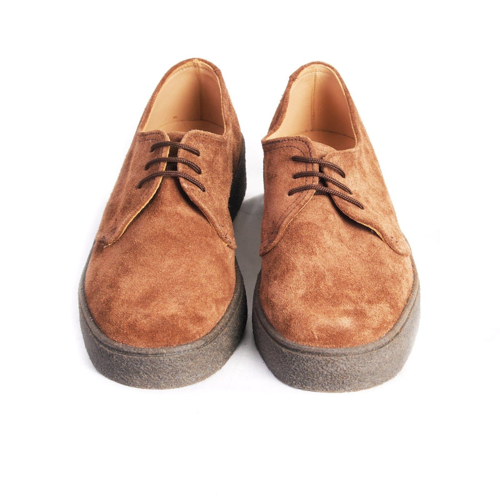 POPBOY GIBSON | Suede Shoe | Brown | €265 -George Cox- HANSEN Garments