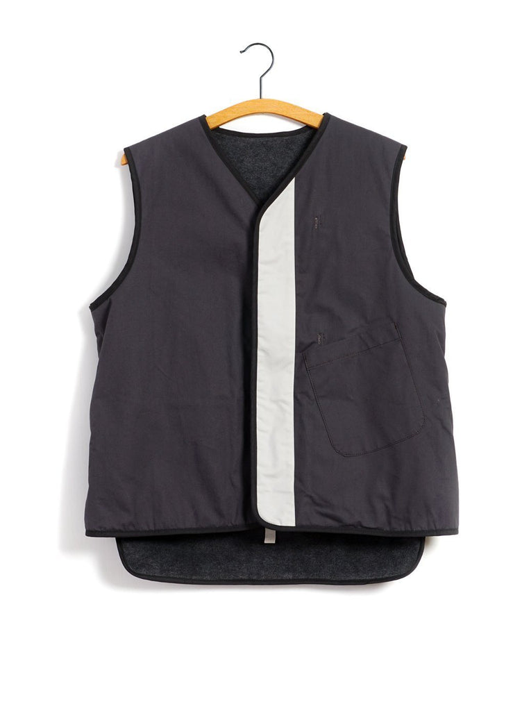 MOUNTAIN RESEARCH - REVERSIBLE VEST | Grey - HANSEN Garments
