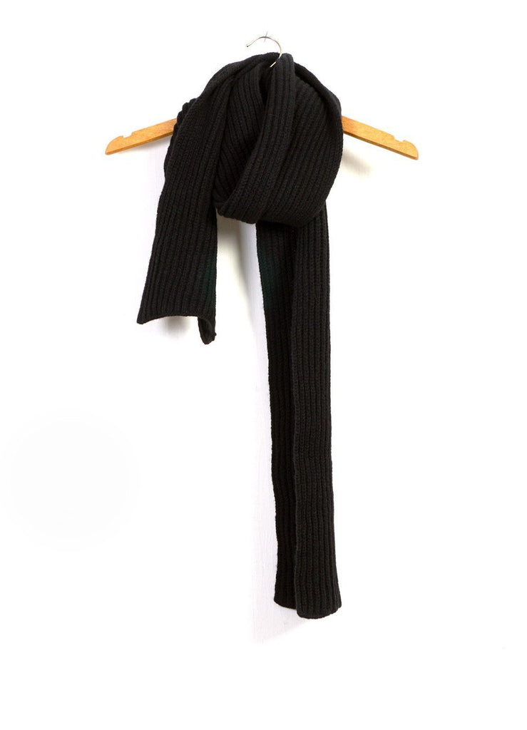 RIB SCARF | Knitted Scarf | Raven | €100 -Inis Meáin- HANSEN Garments