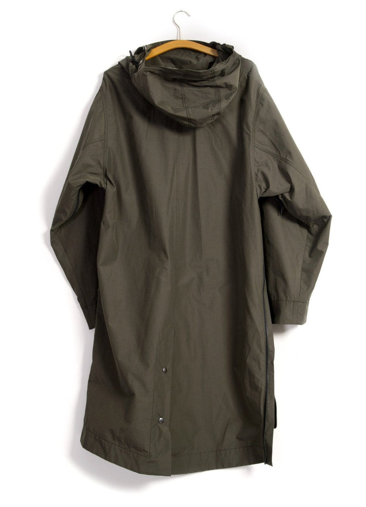ROALD | Long 2 Zipper Spacious Anorak | Tech Army | €450 -HANSEN Garments- HANSEN Garments