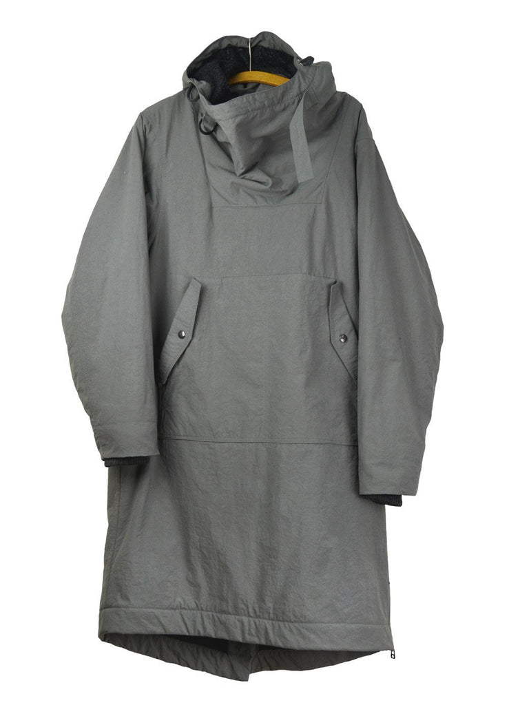 ROALD | Long Winter Anorak | Ash | €650 -HANSEN Garments- HANSEN Garments