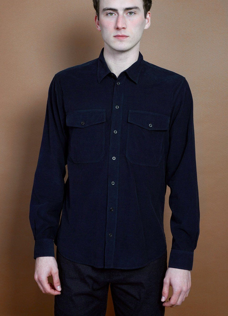 HANSEN Garments - ROY | Casual Everyday Shirt | Navy - HANSEN Garments