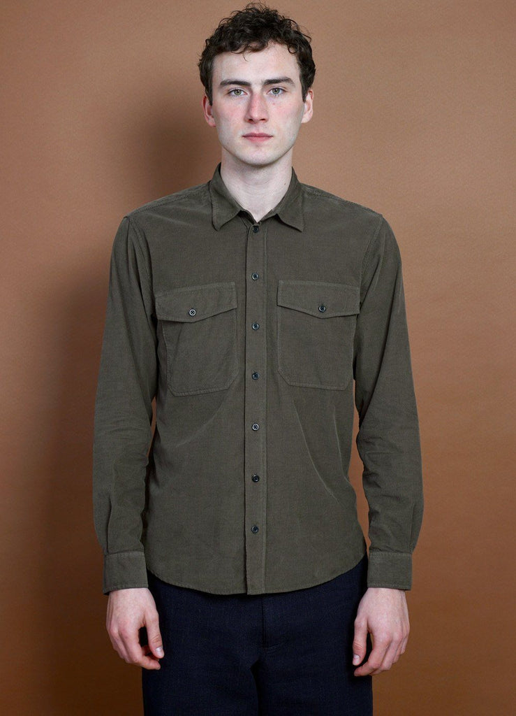 HANSEN Garments - ROY | Casual Everyday Shirt | Wildebeest - HANSEN Garments