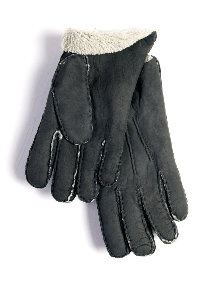 SHEARLING GLOVE | Sheep Leather | Grey | €150 -Maison Fabre- HANSEN Garments