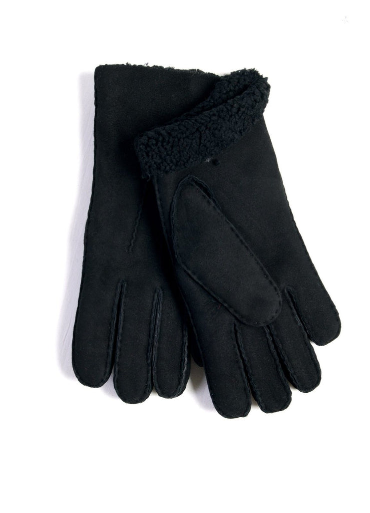 SHEEP LEATHER | Shearling Glove | Black | €150 -Maison Fabre- HANSEN Garments
