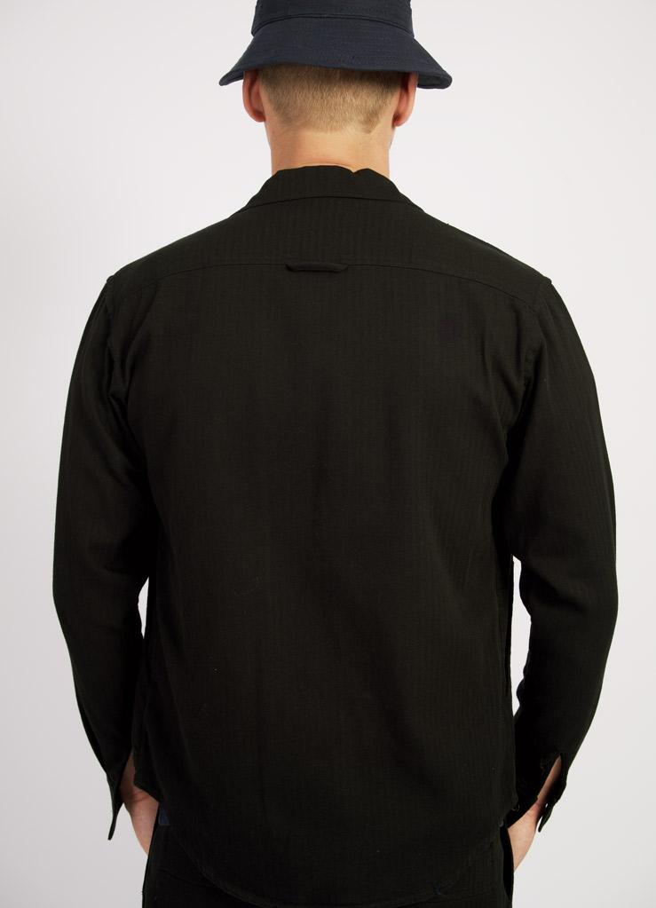 STEFAN | Over Shirt | Black | €200 -HANSEN Garments- HANSEN Garments