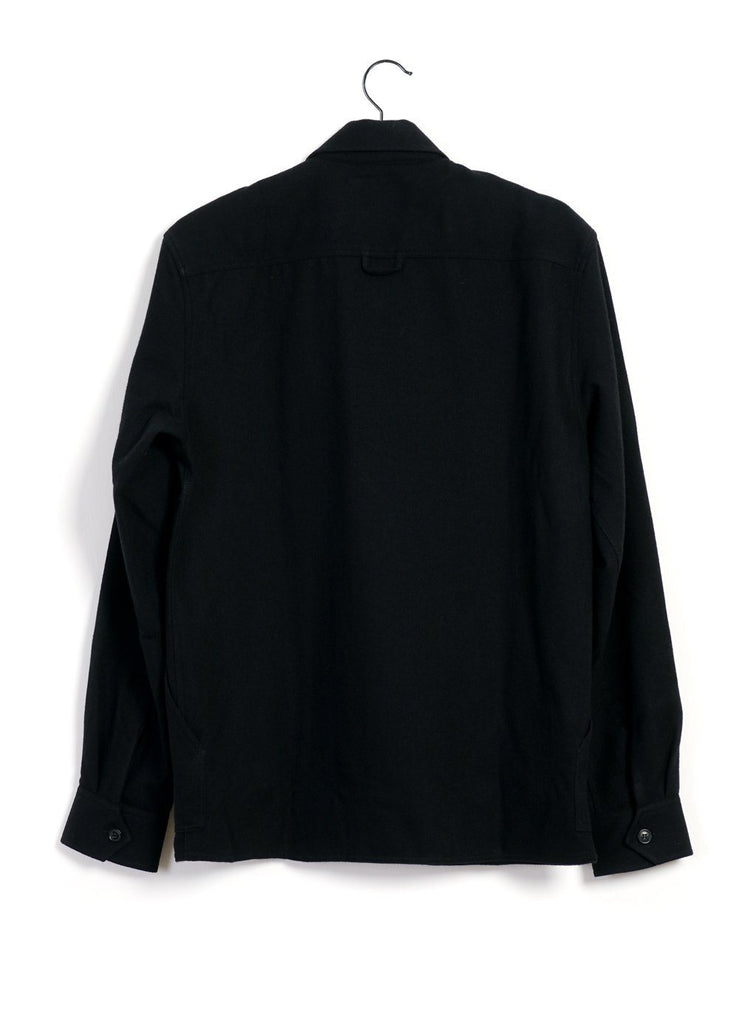HANSEN Garments - STEFAN | Worker Overshirt | Black - HANSEN Garments
