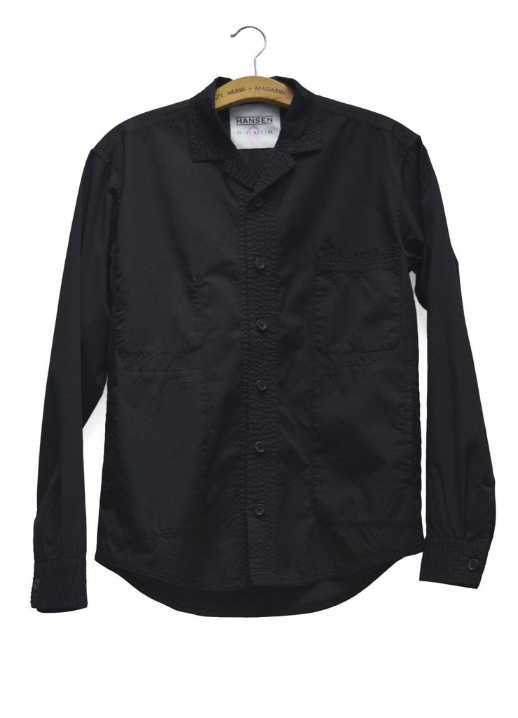 Sten Shirt | Black | €195 -HANSEN Garments- HANSEN Garments