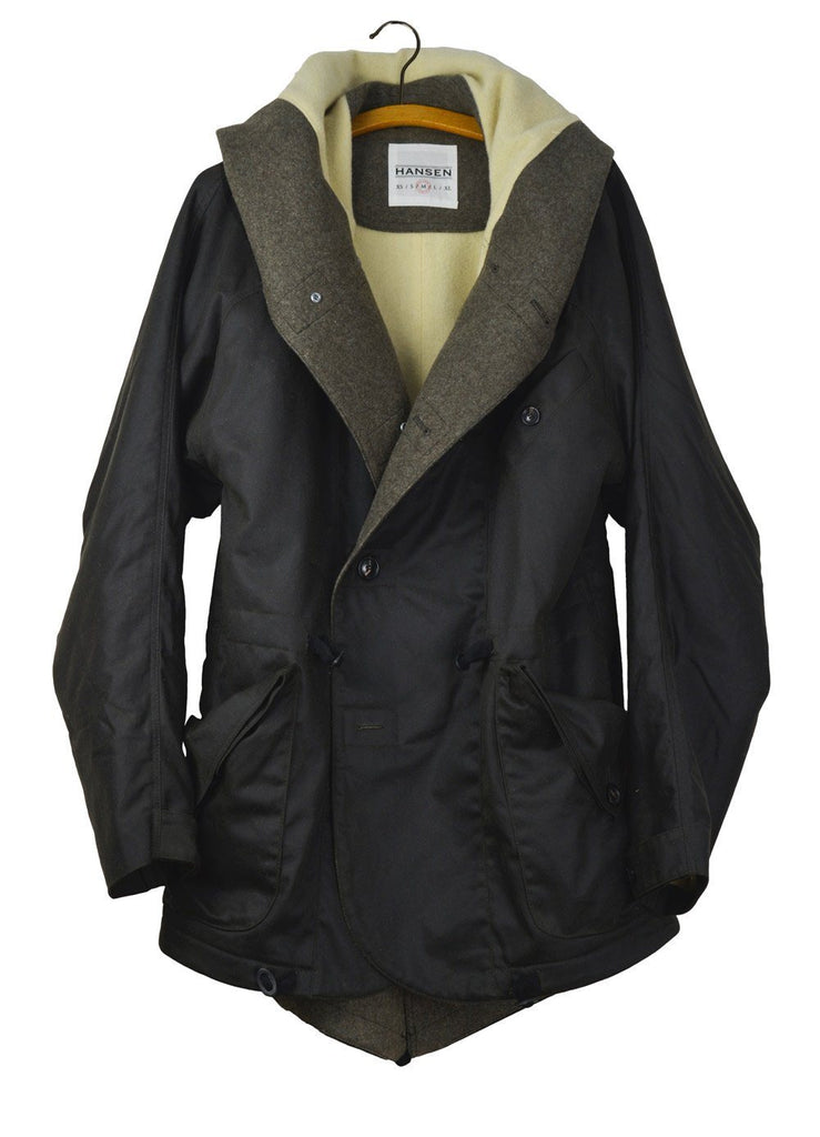 STORM | Oilskin Coat | Olive | €595 -HANSEN Garments- HANSEN Garments