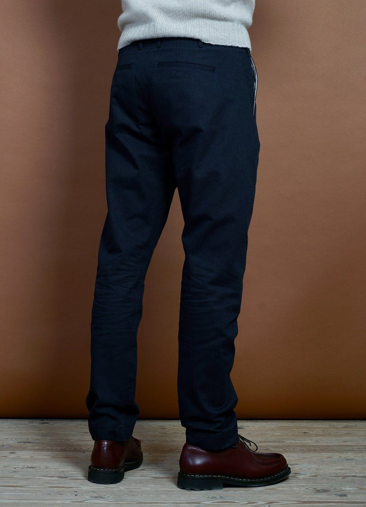 HANSEN Garments - SVENNING | Slim Fit Everyday Trousers | Navy - HANSEN Garments