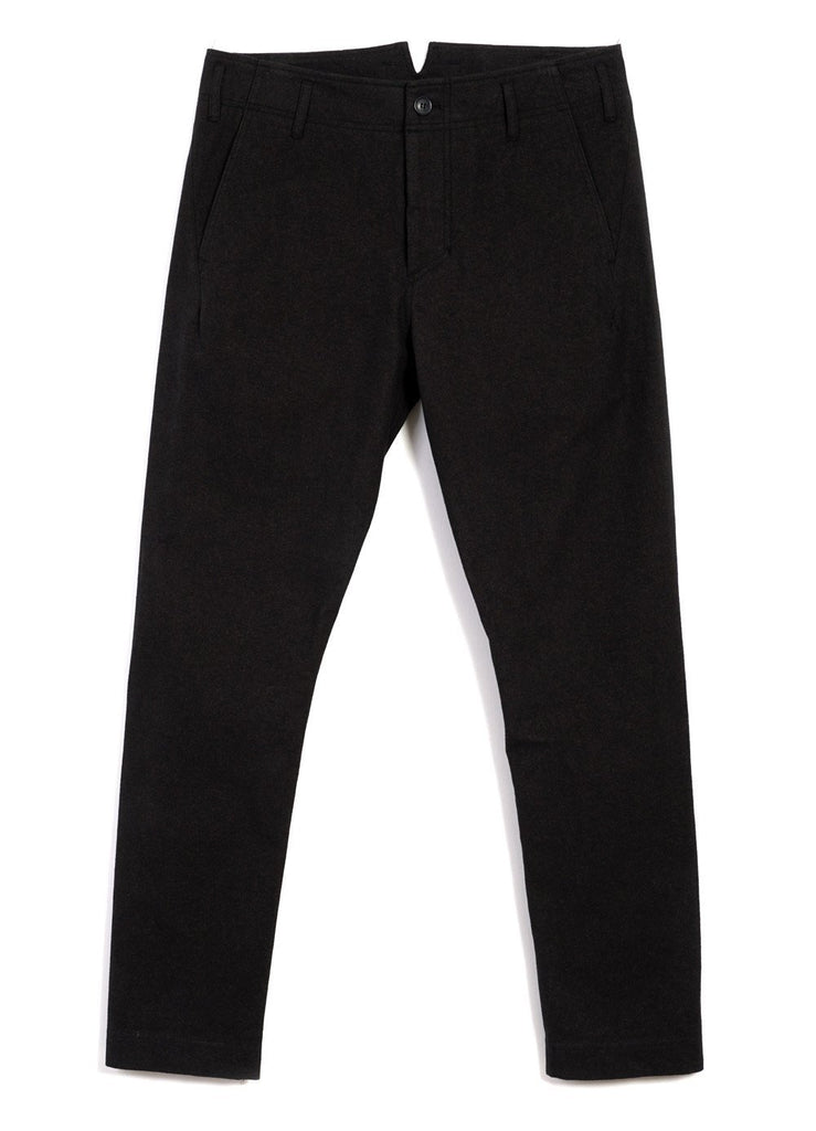 HANSEN Garments - SVENNING | Slim Fit Trousers | Nero - HANSEN Garments