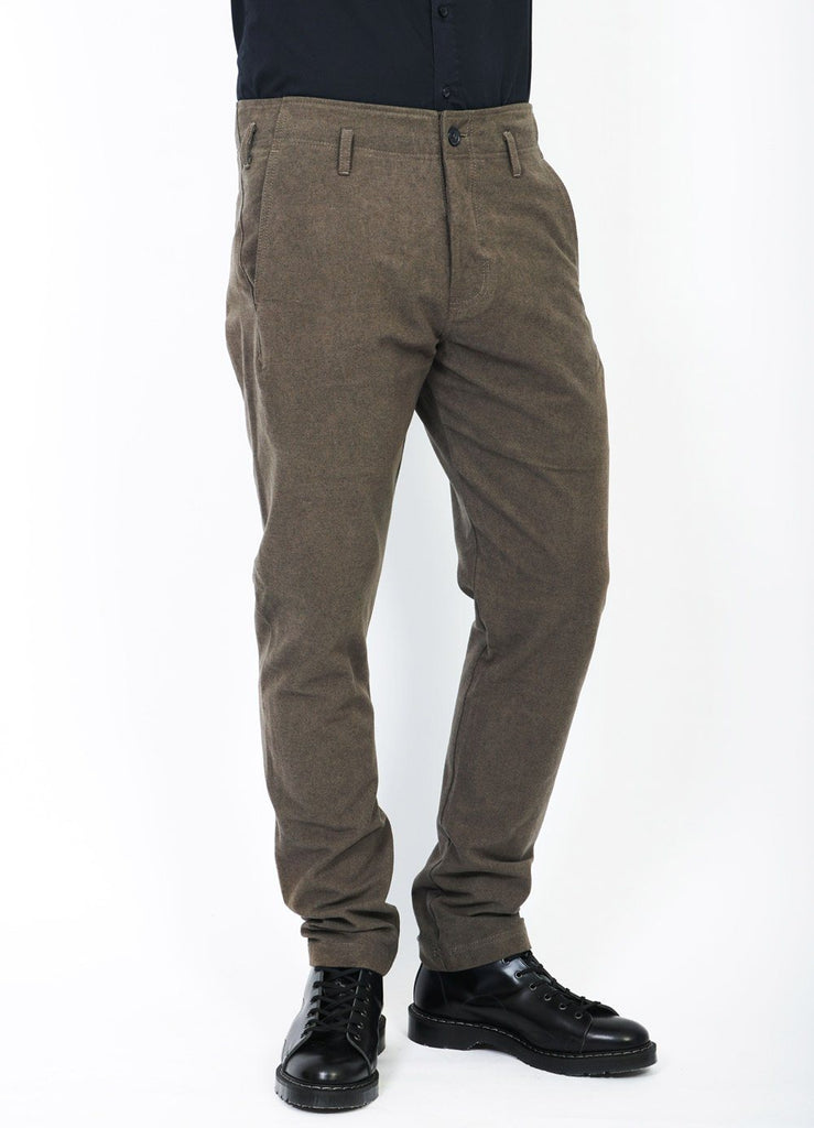 SVENNING | Slim Fit Work Trousers | Taupe | €230 -HANSEN Garments- HANSEN Garments