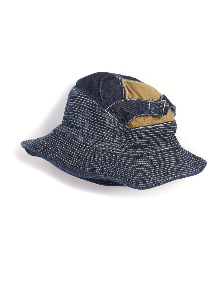 Kapital - THE OLD MAN AND THE SEA | Denim Hat | Dark - HANSEN Garments