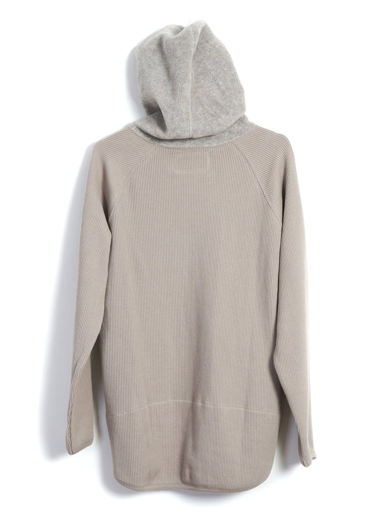 MOUNTAIN RESEARCH - THERMO HOODIE | Beige - HANSEN Garments