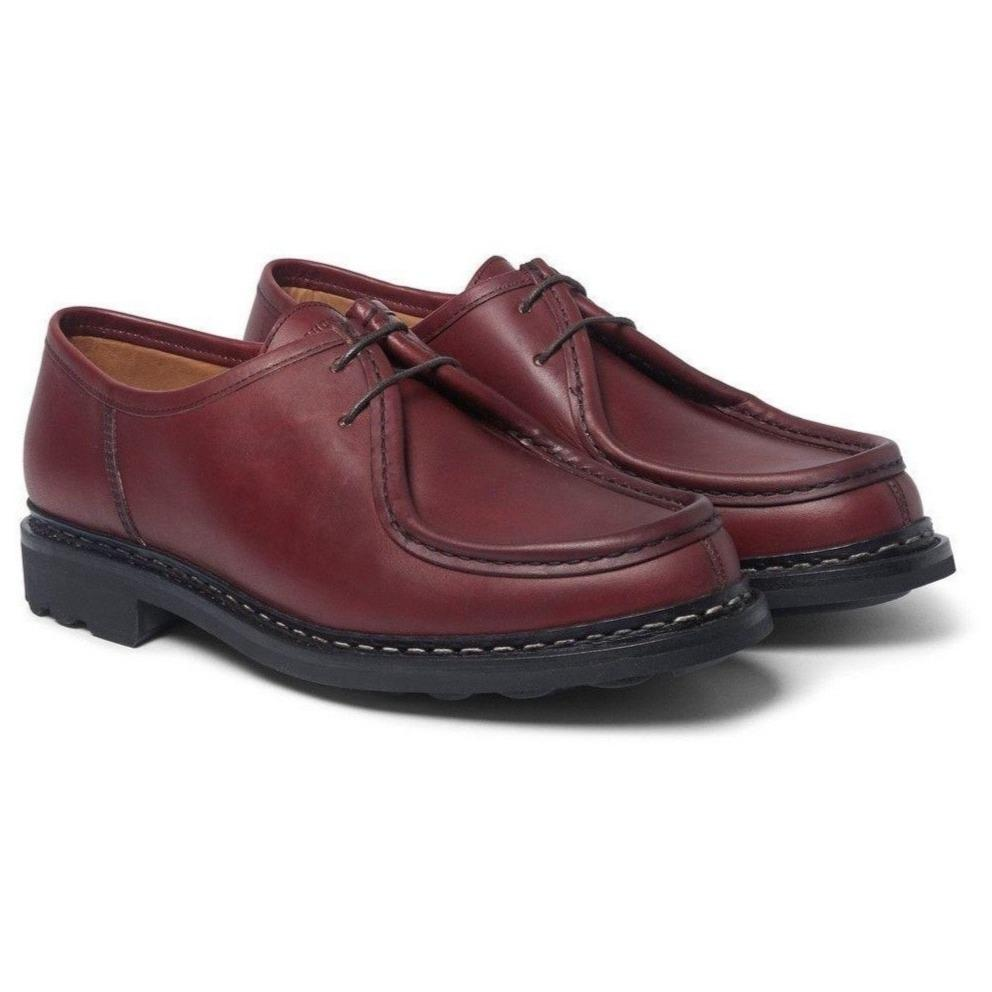 THUYA | Leather Derby Shoe | Burgundy | 400€ -Heschung- HANSEN Garments
