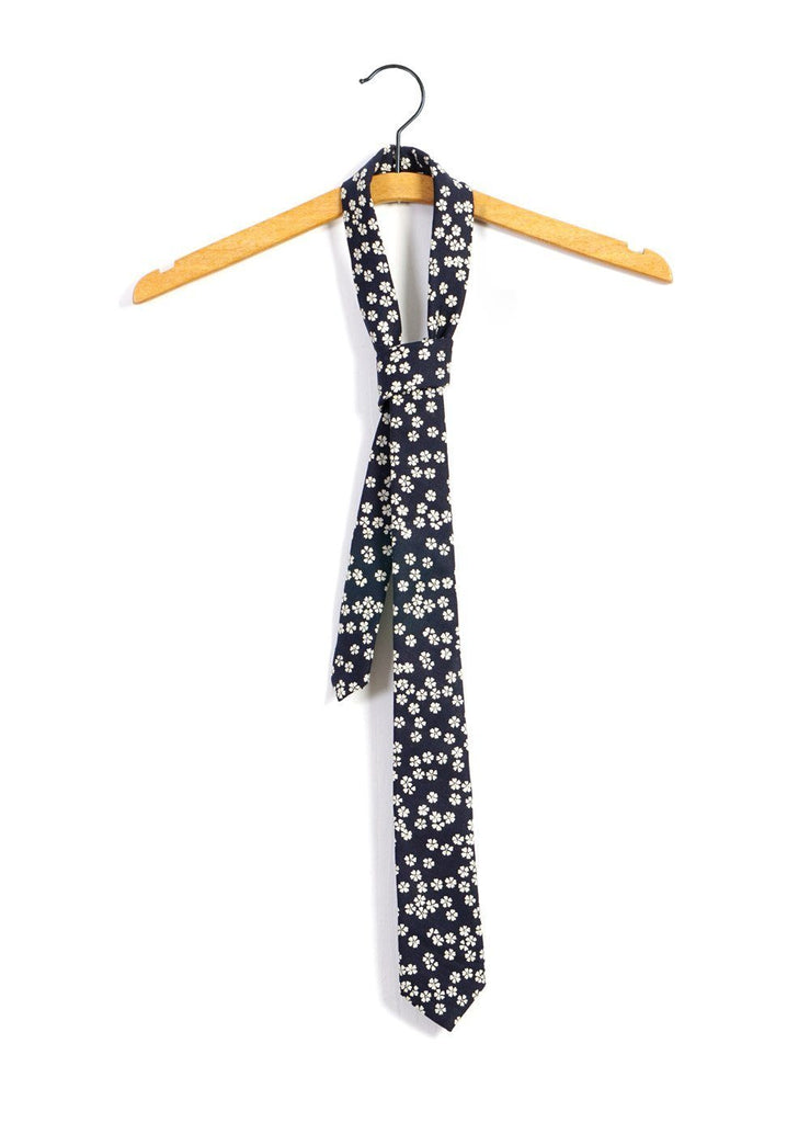 TIE | Printed Pattern Tie| Flowers -HANSEN Garments- HANSEN Garments