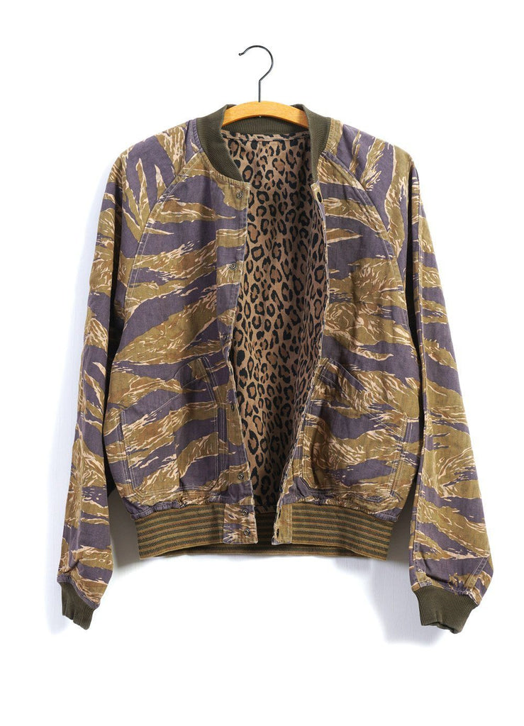 TIGER X CAMO X LEOPARD | Reversible Jacket | Tiger x Leopard | €415 -Kapital- HANSEN Garments