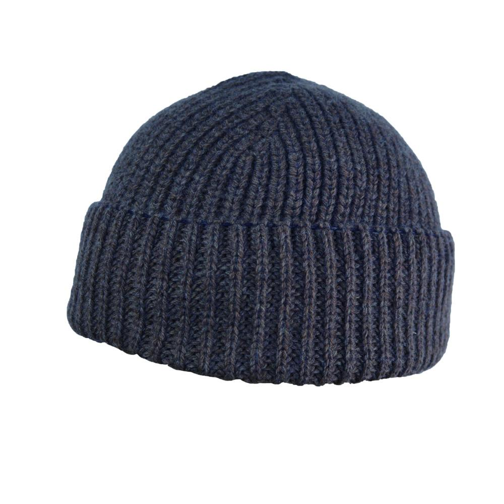 TORE | Knitted Beanie | Blue Grey | €55 -HANSEN Garments- HANSEN Garments