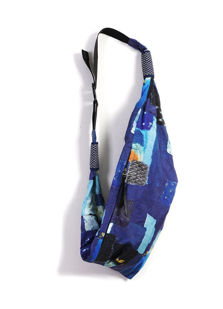 TRANSFER | Boro Print Snuffkin Bag | Blue | €195 -Kapital- HANSEN Garments